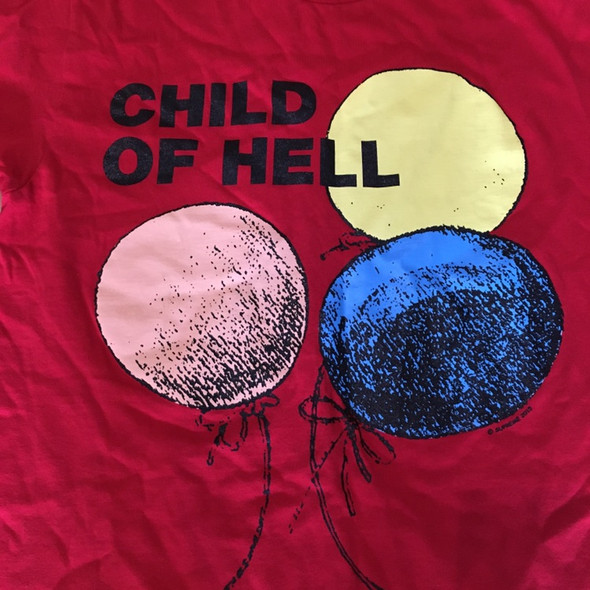Supreme Child of Hell Tee Red F/W 15' Sz M (#7733)