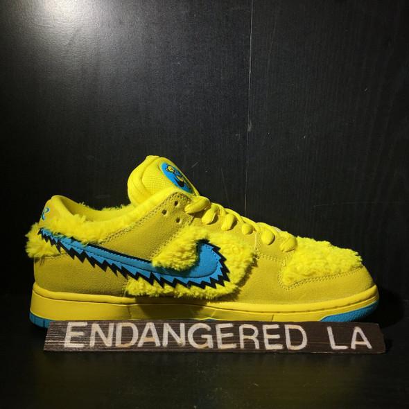 Nike SB Grateful Dead Yellow Sz 9.5 (#20295)