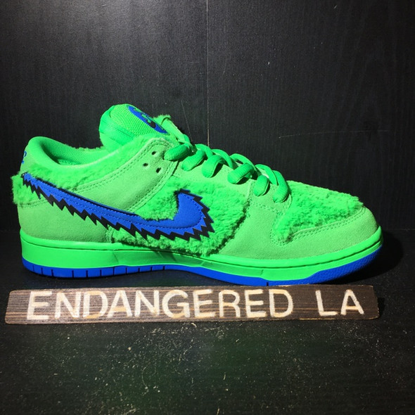 Nike SB Dunk Low Grateful Dead Green Sz 9.5 (#20296)