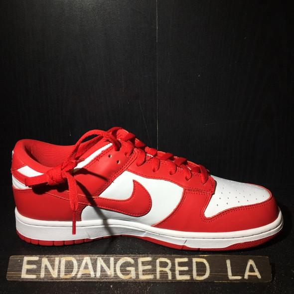 Nike Dunk Low University Red Sz 10 (#20353)