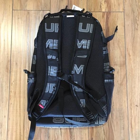 Supreme Backpack F/W 21' Black (#7746)