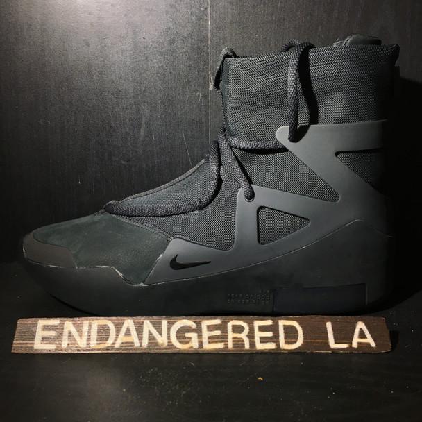 Nike Air Fear of God 1 Black Sz 9.5