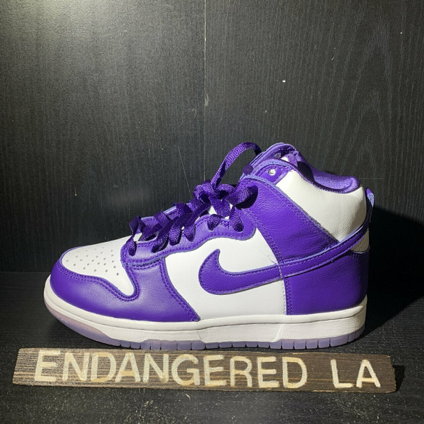 Nike Dunk High Varsity Purple Sz 6W (#18015)
