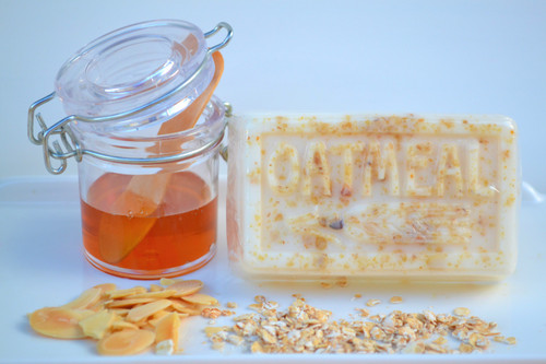 Goodness of Goat's Milk Honey and Oatmeal