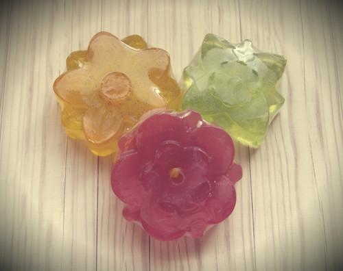 Bundle of Glycerin Flowers