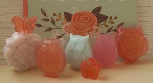 Spring Party Favors-Set of 3 Owls
