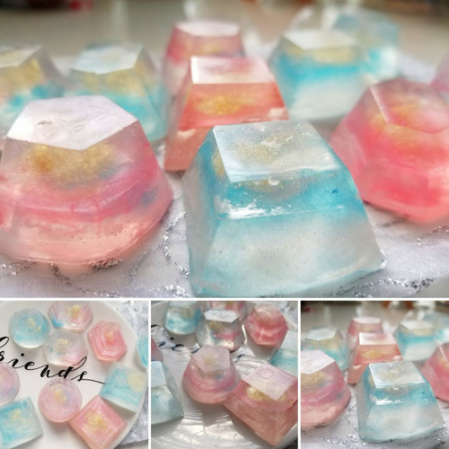 Crystal Clear Gemstones Soaps