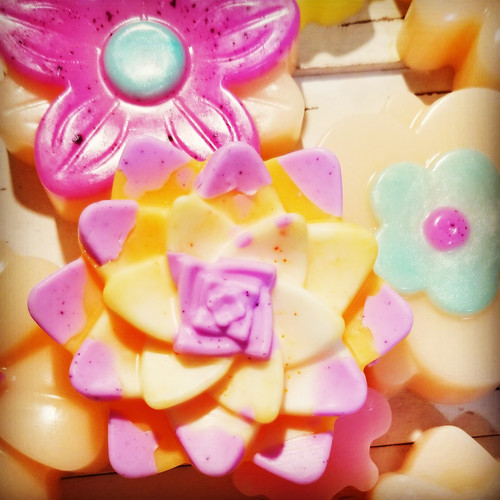 Assorted Flower Soaps As gift sets or Party Favors