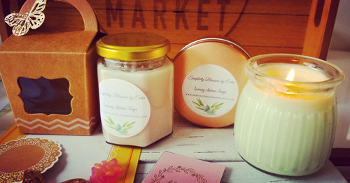 Pure Soy Candles in a Jar