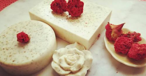 Pomegranate and Egyptian Geranium Face Soap
