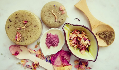 Sage and Rose Petals Face Soap