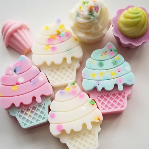 Cupcakes and Ice cream cones Soy Wax melts
