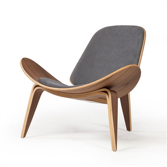 Athena 07 Lounge Chair in Grey