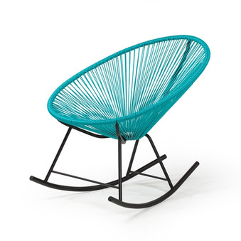 Acapulco Indoor / Outdoor Rocking Chair in Blue
