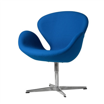 Swan Chair in Blue