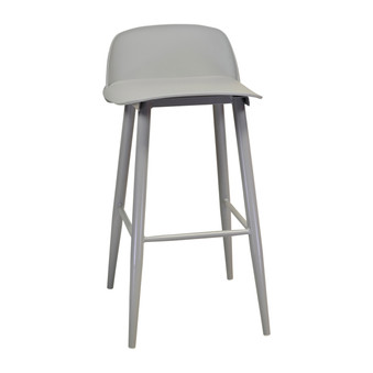 Nerd Bar Stool in Grey