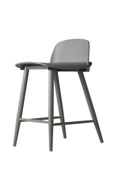 Nerd Replica Counter Stool in Grey