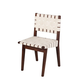Risom Dining Chair Replica in White