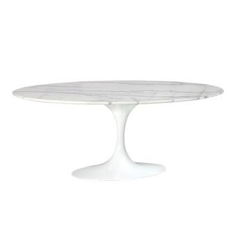 Saarinen Style Tulip Marble Coffee Table