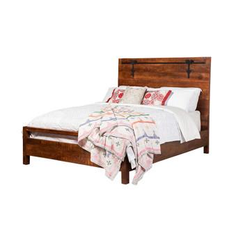 Owen Reclaimed Mango Wood Queen Bed Frame