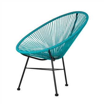 Acapulco Indoor / Outdoor Lounge Chair in Blue