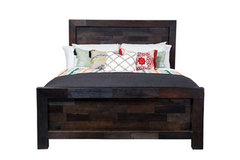 Brownstone Reclaimed Mango Wood Queen Bed Frame