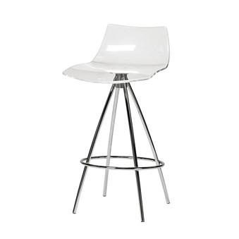 Calligaris Ice Style Clear Counter Stool