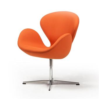 Swan Chair in Orange