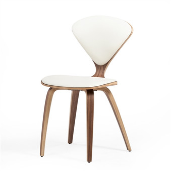 Satine Inspired Side Chair White Leather