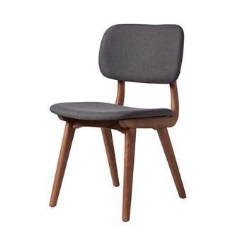 Ivor Side Chair in Grey