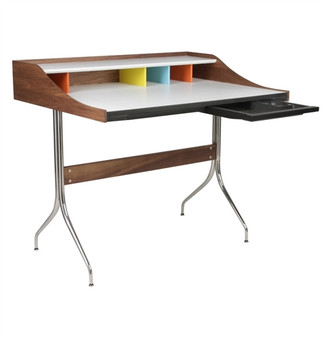 Mid Century Swag Leg Desk