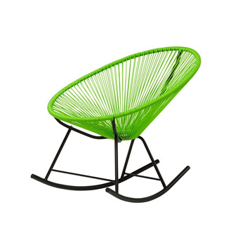 Acapulco Indoor / Outdoor Rocking Chair in Green