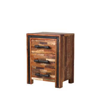 Jaipur Mixed Wood Nightstand