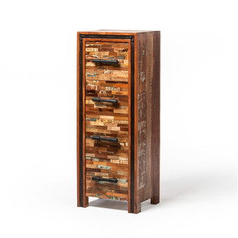 Jaipur Mixed Wood Chest with 4 Drawers