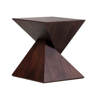 James Tan Pyramid Side Table