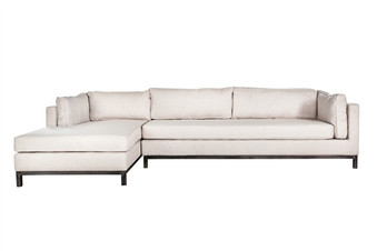 Lexington Sectional Sofa in Natural White