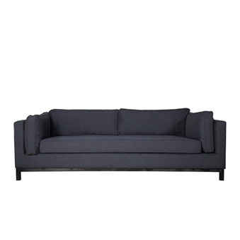 Lexington Sofa in Charcoal Grey