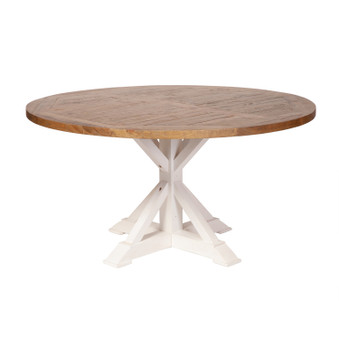 Farmhouse Reclaimed Pine Extension Dining Table - 59