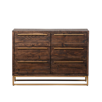 León Six Drawer Dresser - Toasted Cocoa