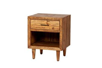 Reclaimed Pine One Drawer Nightstand