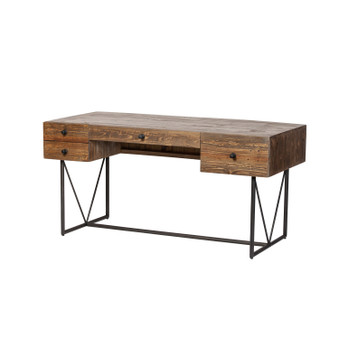 Rutherford Industrial Reclaimed Pine Desk