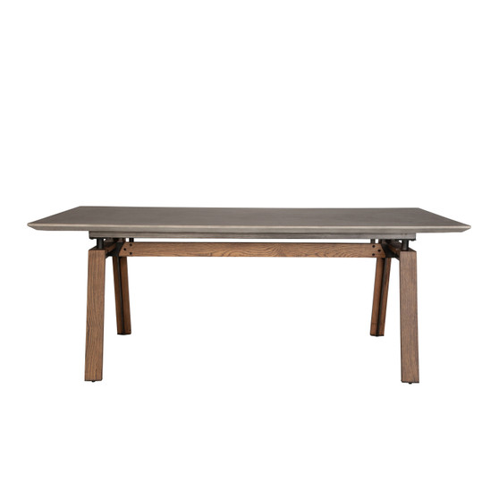 Caleb Concrete Dining Table - 79