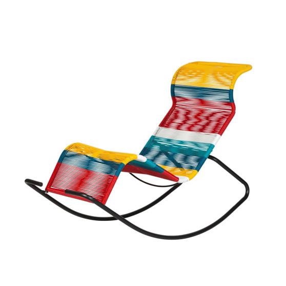 Playa Acapulco Rocking Chair - Multi Color