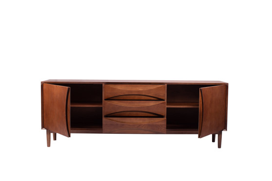 Mid Century Sideboard - Red Oak