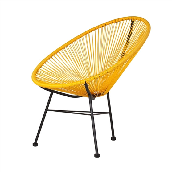 Acapulco Lounge Chair in Yellow