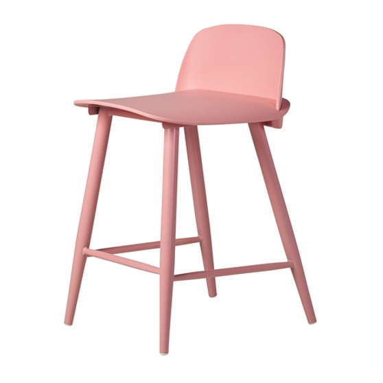 SoCo Counter Stool in Pink