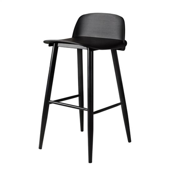 SoCo Replica Bar Stool in Black