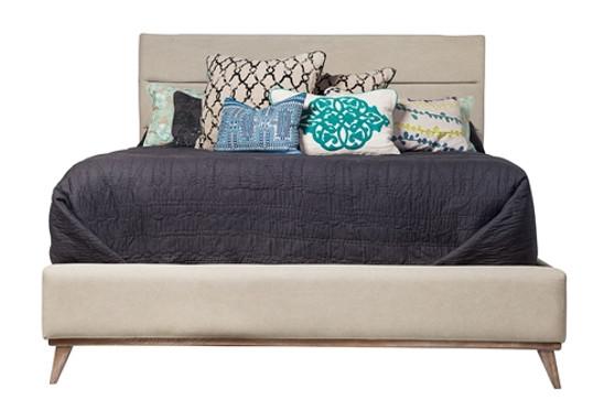 Cooper Upholstered King Bed Frame