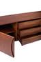 Mid Century Sideboard - Red Oak