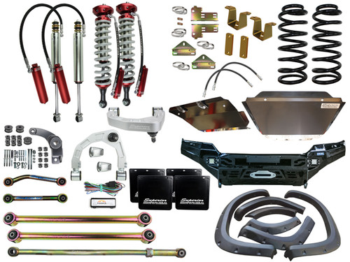 "Superior 4"" Lift kit and Conversion Kit for LC200 Landcruiser"